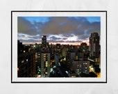 Sao Paulo Skyline Photography Print, Sao Paulo Poster, Sao Paulo Gift, City Photography, Home Decor Wall Art, Extra Large Wall Art, Decor