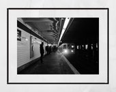 New York Subway Photography Print, New York Subway Print, New York Subway Photo, New York Subway Poster, Urban Photography, Urban Wall Art
