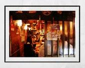 Tokyo Izakaya Print, Golden Gai Tokyo, Japanese Restaurant Decor, Tokyo Photography, Japan Poster, Japan Photography, Tokyo Print, Wall Art