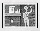 Urban Prints, Street Art Graffiti, Street Art Print, Street Art Poster, New York Street Art, Lower East Side New York Print, Graffiti Print