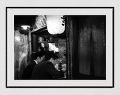 Tokyo Izakaya Print, Japanese Restaurant Decor, Tokyo Photography, Piss Alley Tokyo, Japan Poster, Japan Photography, Tokyo Print, Wall Art