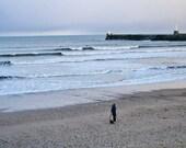 Beach In Aberdeen Scotland Landscape Photography Print