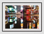 Times Square Photo, Times Square Print, Times Square Wall Art, New York Photography Print, New York Poster, New York Gift