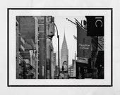 Soho New York Print, Chrysler Building Print, New York Print, New York Photography Print, New York Poster, New York Gift, New York Print