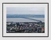 Dundee Photography Print, Tay Bridge Dundee, River Tay, Dundee Poster, Dundee Print, Dundee Scotland, Dundee Gift, Tay Rail Bridge, Decor