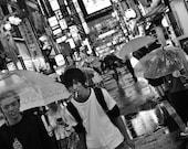 Tokyo Photography Print, Shinjuku Poster, Tokyo In The Rain, Tokyo Print, Japan Photography, Tokyo Poster, Tokyo Wall Art, City Photography