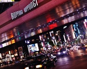 Roppongi Tokyo Print, Roppongi Photo, Tokyo Gift, Tokyo Wall Art, Tokyo Poster, Tokyo Roppongi Poster, Tokyo At Night Print, City At Night