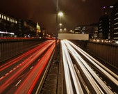 Motorway Traffic Glasgow Photography Print