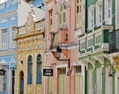 Salvador de Bahia, Colorful Wall Art, Baroque Architecture, Baroque, Brazilian Restaurant Print, World Architecture, Photos of Salvador