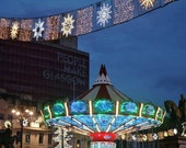 Glasgow George Square Christmas Photography Print