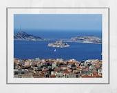Marseille Photography Print, Marseille Poster, Marseille France, Coastal Print, Marseille Gift, Coastal Wall Art, Home Decor Wall Art,