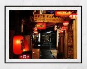 Tokyo Photography, Harmonica Alley Tokyo, Japan Photography, Japan Poster, Japan Print, Japanese Restaurant Decor, Tokyo Print, Wall Art
