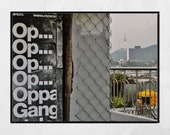 Gangnam Style Print, Gangnam Style Poster, Seoul Poster, Seoul Print, Seoul Wall Art, Seoul Photography Print, Seoul Photography, Korean