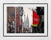 Chrysler Building Print, Soho New York Print, New York Print, New York Photography Print, New York Poster, New York Gift, New York Print