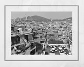 Seoul Photography, Seoul Print, Seoul Skyline, Seoul Poster, Seoul Gift, City Photography, Seoul Photography Print, Black And White Print