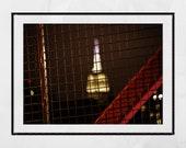 New York Photography Print, Empire State Building Wall Art, New York Poster, New York Print, New York Wall Art, Williamsburg Bridge Print