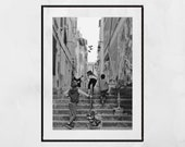 Le Panier Marseille Poster, Marseille Print, Children Playing, Street Photography, Marseille Photography Print, Europe Photography, Decor