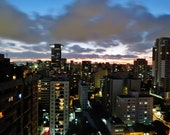 City Photography, City Skyline Photo, City Wall Art, Apartment Gift, Sao Paulo Photo, Night Skyline Photo, Sao Paulo Gift, City Photo,