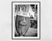 Marseille La Cagole Beer Photography Print, Marseille Gift, Beer Poster, Bar Decor, Home Bar Wall Art, Beer Wall Art, Home Bar Decor, France