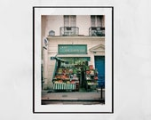 Paris Photography Print Saint Germain Street Wall Art