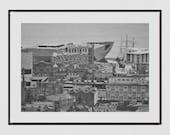 Dundee Photography Print, Dundee Skyline, Dundee Poster, Dundee Print, Dundee Scotland, V&A Dundee, Dundee Gift, Tay Rail Bridge, Decor