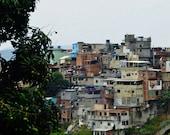 Rio De Janeiro Favela Print, Brazil Favela Photo, Favela Photography, Rio Photo, Brazil Photo, Brazil Photography, Rio Photography, Wall Art