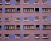 Brutalist Architecture Photography Print In Anderston Glasgow