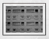 Urban Photography, Brutalism Poster, Glasgow Photography Print, Anderston, Brutalist Print, Brutalist Architecture, Black And White Print
