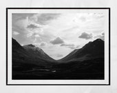 Glencoe Scotland, Scotland Print, Scottish Highlands Print, Scottish Highlands Poster, Landscape Photography, Nature Photography, Wall Art