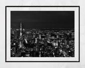 Tokyo Night Photography, Tokyo Skyline, Tokyo Photography Print, Tokyo Print, Tokyo Tower Print, City Photography, Home Decor Wall Art