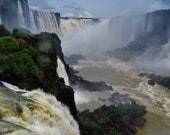 Landscape Photo, Foz de Iguazu Print, Iguazu Falls Print  Iguazu Falls Photo, Waterfall Photo, Waterfall Print, Iguazu Falls Photography