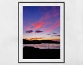 Isle of Barra Scotland Photography Print, Sunset Photography, Hebrides Photos, Barra Photos, Outer Hebrides Pictures, Landscape Print, Decor