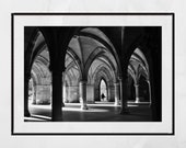 Glasgow University Cloisters Picture, Glasgow University Picture, Glasgow University Photography Print, Picture Of University Of Glasgow