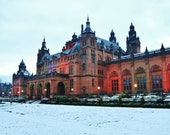 Glasgow Kelvingrove In The Snow Photography Print