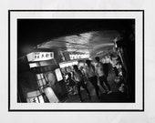 Yurakucho Tokyo Photography Print, Tokyo Print, Black And White Print, Tokyo Poster, Tokyo Wall Art, Japan Poster, Black And White Print