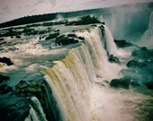 Landscape Photography, Iguazu Falls Photo, Waterfall Photo, Nature, Iguazu Falls Print, Waterfall Print, Iguazu Falls Photography, Art