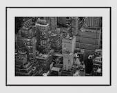 New York Photography Print, City Photography, Manhattan Print, Urban Photography, New York Poster, Manhattan Print, Living Room Wall Print,