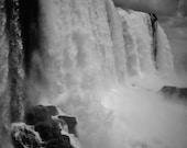 Iguazu Falls Photography Print, Waterfall Print, Waterfall Photography, Iguazu Falls Picture, Nature Photography, Gallery Wall Prints, Decor