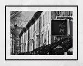 New York Brownstones Print, Brooklyn Brownstones, New York Print, Brooklyn Print, New York Photography Print, New York Poster, New York Gift