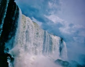 Waterfall Photo, Landscape Photography, Nature, Iguazu Falls Print  Iguazu Falls Photo, Waterfall Print, Iguazu Falls Photography, Poster