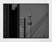 Modern Art Print, Brutalist Wall Art, Meguro Tokyo Print, Urban Photography, City Photography, Modern Photography, Architecture Photography