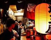 Tokyo Photography, Tokyo Izakaya Print, Japanese Restaurant Photography, Golden Gai Tokyo, Japanese Restaurant Decor, Gallery Wall Prints