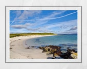 Isle of Barra Scotland Beach Photography Print