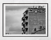 Brutalist Photography, Marseille Photography, Brutalist Architecture, Brutalist Poster, Brutalism Poster, Urban Photography, Graffiti Print