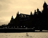 Kelvingrove Glasgow In The Snow Photography Print