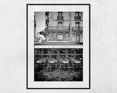 Paris Cafe Wall Art Montparnasse Poster