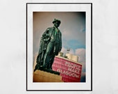 Glasgow Photography Print, Glasgow Poster, Glasgow Print, People Make Glasgow Poster, Glasgow Scotland, Glasgow Photography, Glasgow Gift