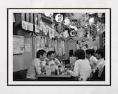 Tokyo Izakaya Print, Japanese Restaurant Decor, Tokyo Photography, Japan Poster, Japan Print, Japan Photography, Tokyo Print, Tokyo Poster