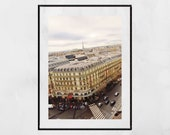 Paris Photography, Paris Print, Paris Photography Print, Paris Skyline, Paris Wall Art, Paris Poster, Paris Picture, Galeries Lafayette