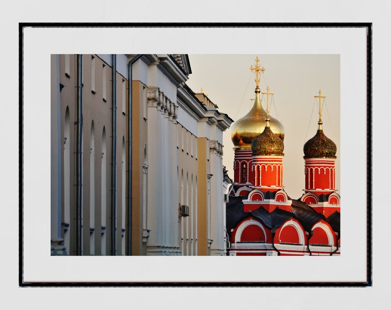 Moscow Russia Street Photography Print